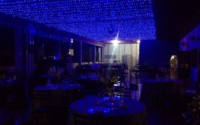 Evento temático em ambiente externo no Hotel Mariá